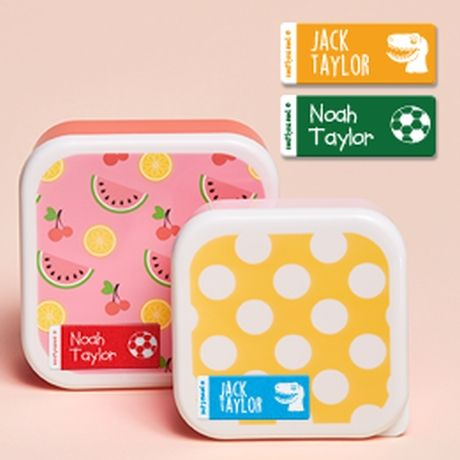 Twin Pack - Small Name Labels